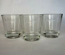 New ListingCrown Royal Shot Glasses Barware Clear - Set of 3