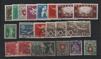 Switzerland useful mint and used collection WS13228