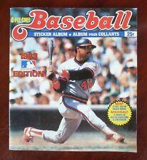 1983 MLB O-Pee-Chee Stickers Full Set in Album 330/330 - Reggie Jackson on Cover