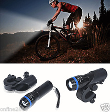 1200lm Cycling Bike Bicycle Head Front Light Cree Q5 LED Flashlight + 360 Mount