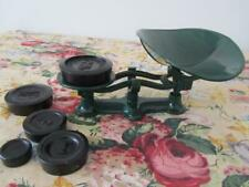Antique Vintage KITCHEN SCALES with Tray & Weights