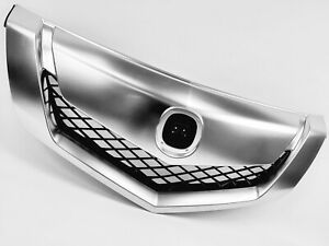 Fit ACURA TL 2009 2010 2011 Chrome & Painted Front Upper Grille GRILL
