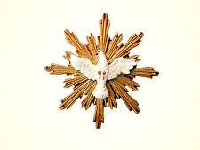 H029-1 Krippenfigur Symbol Heiliger Geist weiße Taube Höhe ca.5cm