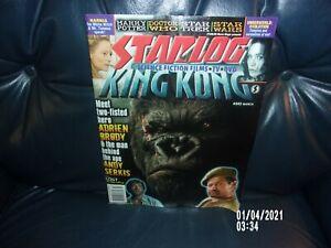 STAR LOG MAGAZINE #343 MARCH KING KONG DOCTOR WHO VG