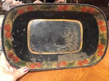 Antique Apple Tray Circa 1810 /Toll Painted