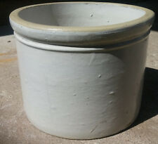 Antique Red WIng Minnesota Stoneware 10 Pound Butter Crock