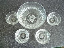 5 Piece Glass Fruit Dish Set