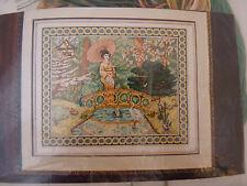 Oriental Serenity Counted Cross Stitch Stitchery Kit by Graphworks International