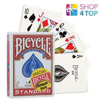BICYCLE RIDER BACK STRIPPER CARDS DECK MAGIE TRICKS SPIELKARTEN ROT DECK USPCC