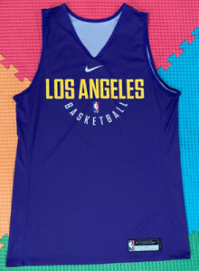 lakers team issued Size Medium #5 Reversible Authentic Pro Cut Jersey Practice