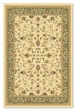 Diamond Cream Green Traditional Persian Style Quality Wool Rug 160x230cm 50 off