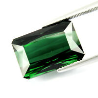 Flawless Tourmaline 16.55ct aaa green color 100% Natural earth mined Mozambique