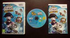 THE LAPINS CRETINS RETOUR VERS LE PASSE : JEU Nintendo Wii (COMPLET envoi suivi)