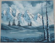 Snow-capped Mountain Scene by Diane Andre--Protege of Bill Alexander