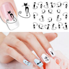 Cat Nail Sticker Water Transfer Slide Decal Sticker Nail Art Tips To Decor