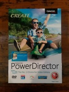 GENUINE CyberLink Power Director Windows 10 Ready Create FREE SHIPPING!!!