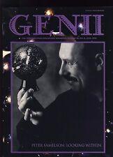 Peter Samelson Genii Conjurors' Magazine - Magicians, Magic Tricks - June 1995