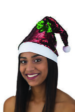 Christmas Bling- Color Changing Sequin Santa Hat