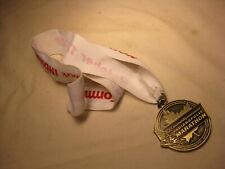 2009 Indianapolis Community Hospital Marathon Medal Medallion w/ lanyard