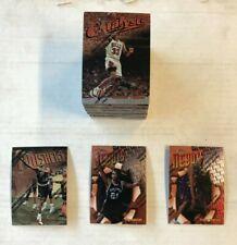 1997-98 Topps Finest Basketball Series 1 Bronze Set #1-120 Duncan RC & Jordan