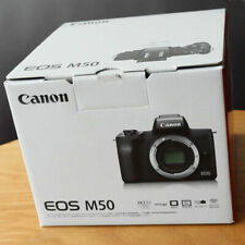 (Body Only) Canon EOS M50 Digital Camera Without Lens Black