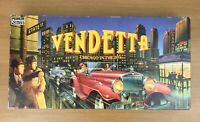 Vintage Vendetta Board Game By Parker 1990 Chicago in the 30's