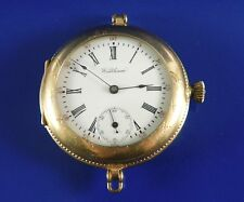 Antique Waltham Ladies Gold Fill Pocket / Wrist Watch Model 1891 Size 0 Ca.1900