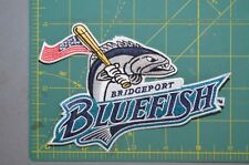 "Bridgeport Bluefish 6"" MiLB Throwback Minor League Baseball Jersey Patch"