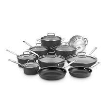 Cuisinart 17-Piece Hard Anodized Nonstick Cookware Set