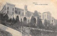 5385) BIELLA CASTELLO DEI CONTI DI TERNENGO. VIAGGIATA.