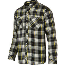Analog Balance ATF Flannel Shirt - Men's Size XS Black Plaid - Snowboard Burton