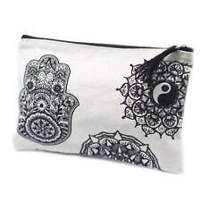 Classic Mandala Design Zip Up Pouch, Great For Travel, Gift Bags, Wedding Favour