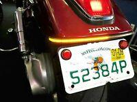 Honda VTX 1300C/1800C LED Fender Eliminator Turn Signal Kit w/ Clear Lens