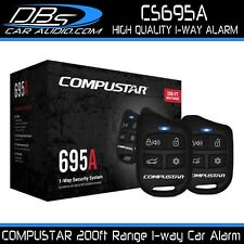 Compustar Cs695A 1-Way 200ft Range Car Vehical Alarm System with Keyless Entry
