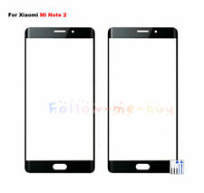 For Xiaomi Mi Note 2 Outer Front Screen Glass Cover Lens Replacement New