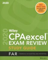 Wiley CPAexcel Exam Review 2020 + Practice Questions : FAR Financial Accounti...