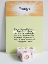 Dice Masters-reminder card naranja-Teenage Mutant Ninja Turtles