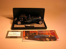 1930 BUGATTI ROYALE COUPE NAPOLEON FRANKLIN MINT 1:24 DIECAST & DISPLAY