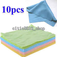 Home 10pc Microfiber Phone Screen Camera Lens Glasses Cleaner Cleaning Cloth Hot