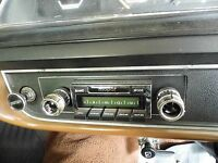 Radio & Fascia suit VH VJ VK CL CM Valiant, Bluetooth 300Watt USB AM/FM