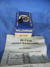 Halldorson Nos Output Transformer Mi-T221