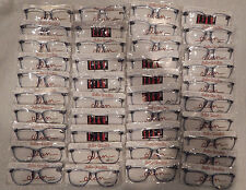 93e08c06807 Vintage 40 Pc. Elan  7002 Blue 56 16 Eyeglass Frame Lot NOS lot