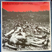 PARANOID VISIONS - SCHIZOPHRENIA - Irish Punk - LP 1987 UK Pressing