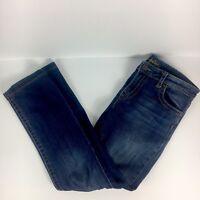 Kut From The Kloth Women's Stevie Jeans Straight Leg Dark Wash Stretch Size 8