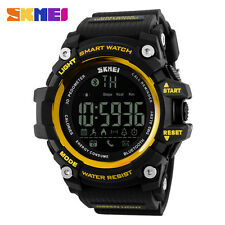SKMEI Luxury Analog-Digital Bluetooth Smart Watch Sport Waterproof Wrist Watch