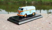 1/64 Scale Volkswagen T1 Bus Gulf Version Diecast Car model Collection Toy