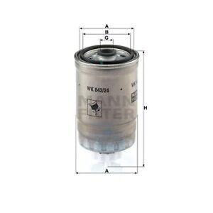 1 Filtre à carburant MANN-FILTER WK 842/24 convient à SAAB