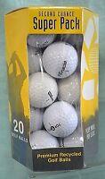 SUPER Pack 20 GOLF Balls SECOND Chance Nitro Golf Premium RECYCLED Top Flite