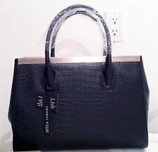 New Black Leather Thomas Wylde Tote Bag