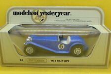 Matchbox Models of yesteryear Y-3 1934Riley MPH in Blue